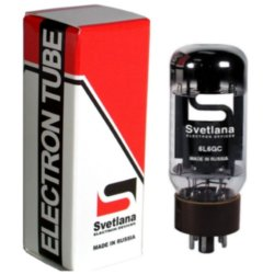 Svetlana 6L6GC Power Tube