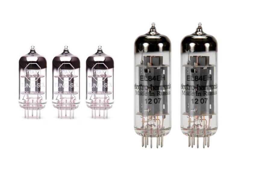 Tung-Sol Tube Upgrade Kit For Peavey 6505 Mini Head EL84 12AX7